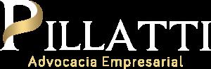 Logotipo Pillatti Advocacia Branca